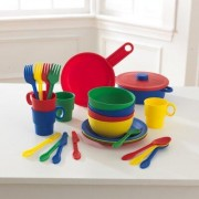 KidKraft 27 Piece Cookware Play Set 63027 Color: Primary