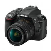 NIKON D3300 KIT AF-P DX 18-55 MM VR SPIEGELREFLEXKAMERA SCHWARZ