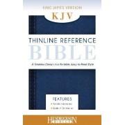 KJV Thinline Reference Bible Midnight Blue by Hendrickson