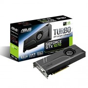 ASUS GeForce GTX 1070 8GB Turbo Edition 4K VR Ready Dual HDMI 2.0 DP 1.4 Graphic Card TURBO-GTX1070-8G TURBO