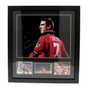 Manchester United F.C. Cantona Signed Framed Print