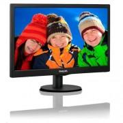 "Monitor Philips 203V5LSB26/10, 19.5"", W-LED, 1600x900, 10M:1, 5ms, 200cd, D-SUB, čierna textúra"