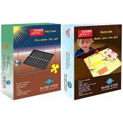 WAVEKIDS Solar Power And Electric Quiz - Do It Yourself Science Combo Kit