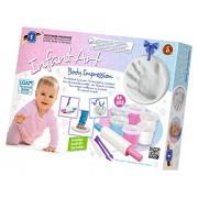 Feuchtmann Juguetes 6280822 - infantil Body Art Impresión, bebé Sculpting Set, de 12 piezas