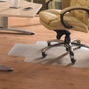 Tappeto protettivo in vinile 5 Star -Per pavimenti-c/linguetta-trasparente- 90x120x0,25cm- FC129225LV