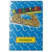 Keezbord Keezkaarten (Blauw of Rood)