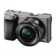 Sony Alpha ILCE-6000L 24.3MP Digital SLR Camera (Grey) with 16-50mm Lens