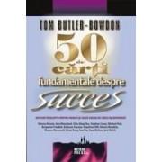 50 de carti fundamentale despre succes.