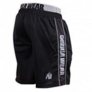 Gorilla Wear California Mesh Shorts Black/Grey - L/XL