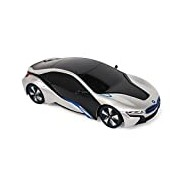 New York 1:24 Scale BMW I8 Remote Controlled Car (Silver)