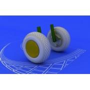 Eduard Brassin 1:48 - PV-1 Ventura Wheels - EDB648068