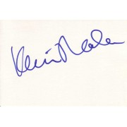 Kevin Nealon Autographed Index Card
