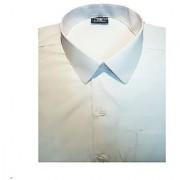 White Uniform Cotton Shirt For Kids Plain White Full Sleeves For all School Students Boys Girls Unisex Shirts Size 30