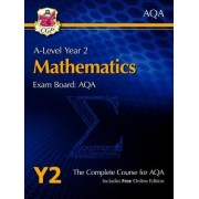New A-Level Maths for AQA: Year 2 Student Book with Online Edition by CGP Books
