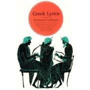 Greek Lyrics by Richmond Lattimore