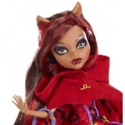 Papusa Clawdeen Wolf - Monster High Scary Tales