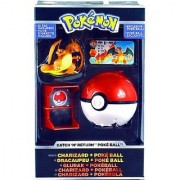 Pokemon Trainer's Choice - Catch 'N' Return Charizard + Poke' Ball