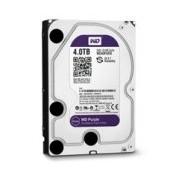 DISCO DURO WD PURPLE 3.5 4TB SATA3 6GB/S 64MB INTELLIPOWER 24X7 P/DVR 1-8 BAHIAS/1-32 CAM