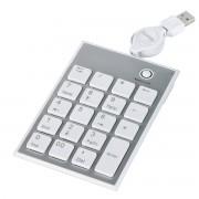 Tastatura numerica Hama SK140 Slim White