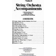 Violin II String Orchestra Accompaniments to Solos from Volumes 1 & 2 by Suzuki Violin School