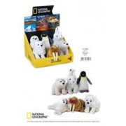Jucarie Plus Venturelli National Geographic Baby Polar 17 Cm