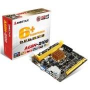 Tarjeta Madre Biostar mini ITX A68N-2100, S-FT3, AMD Dual-Core E1-2100 Integrada, HDMI, USB 2.0/3.0, 16GB DDR3