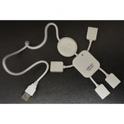 USB 2.0 4 Ports Hub- Man Shape. Model # 71-711