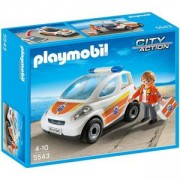 Комплект Плеймобил 5543 - Кола за спешна медицинска помощ - Playmobil, 291028