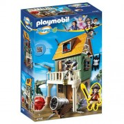 Playmobil 4796 - Super 4: Forte dei Pirati Mimetico con Ruby