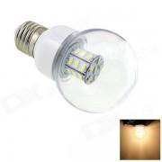 HONSCO E27 3W 200lm 3000K 27-SMD LED bombilla blanca caliente (12 ~ 24V)