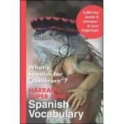 Harrap's Super-Mini Spanish Vocabulary by Harrap