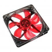 Ventilator Cooltek Silent Fan 120 Red LED