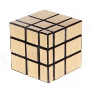 Cube Toy 7097A Ultra-suave de tres capas Espejo Magico de Rubik - Golden