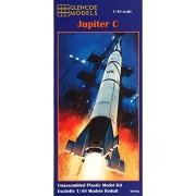 Glencoe Modelos 1:48 Escala Júpiter C Rocket kit de plástico Modelo
