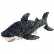 Wild Republic AQ Shark Great White Adult 10 Plush