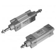 Cilindro a doppio effetto ammortizzato ISO 15552 Alesaggio 80 mm Corsa 500 mm