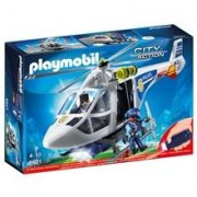 Playmobil 6921 Playmobil Polishelikopter med LED-sökljus
