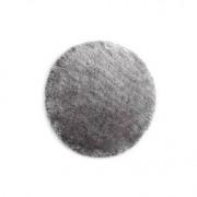 Miliboo Tapis shaggy rond gris 150 cm UGO