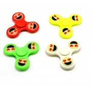 Fidget spinner smiley face fosforescent