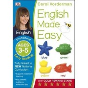 English Made Easy Preschool Early Reading Ages 3-5: Ages 3-5 preschool by Carol Vorderman