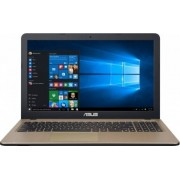 "Laptop Asus X540SA-XX004D, 15"" HD, Intel Celeron Dual Core N3050 (2M Cache, up to 2.16 GHz), 4GB DDR3, HDD 500 GB, DVDRW HD, no OS, Auriu"
