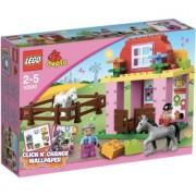 Lego Duplo horse stable v29 10500