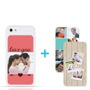 iPhone 5/5s – Switch case set (wit)