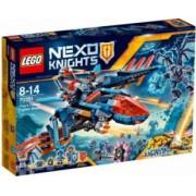LEGO NEXO KNIGHTS - AVIONUL FALCON BLASTER A LUI CLAY 70351
