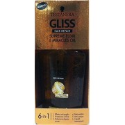 Gliss 6 x GLISS Trattamento Capillare Oil Miracle Supr.Elixir 6 75 Ml
