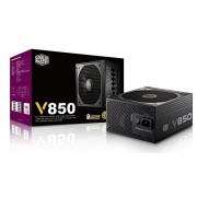 Cooler Master Vanguard V850 - 80+ Gold Certifed Fully Modular Cable Design (Six PCI-E 6+2 pin , Silent 135 mm FDB fan)
