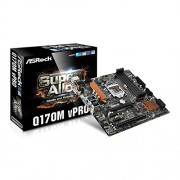 ASRock Q170M vPro Intel Skylake micro scheda madre ATX
