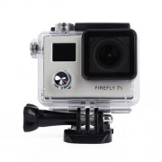 Firefly 7S Mini 4K Life Waterproof HD 12MP WiFi Dual Screen DV Action Sports Camera for FPV(Silver)