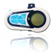 Som De Moto Mp3 Bluetooth 12v Pendrive, Sd, Usb, Display Lcd