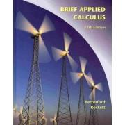 Brief Applied Calculus by Geoffrey C Berresford